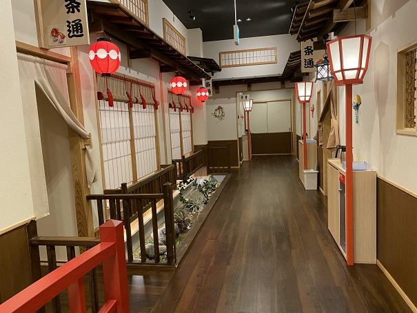 祇園小路 鮮 遊食房屋 丸亀店京都の街並み