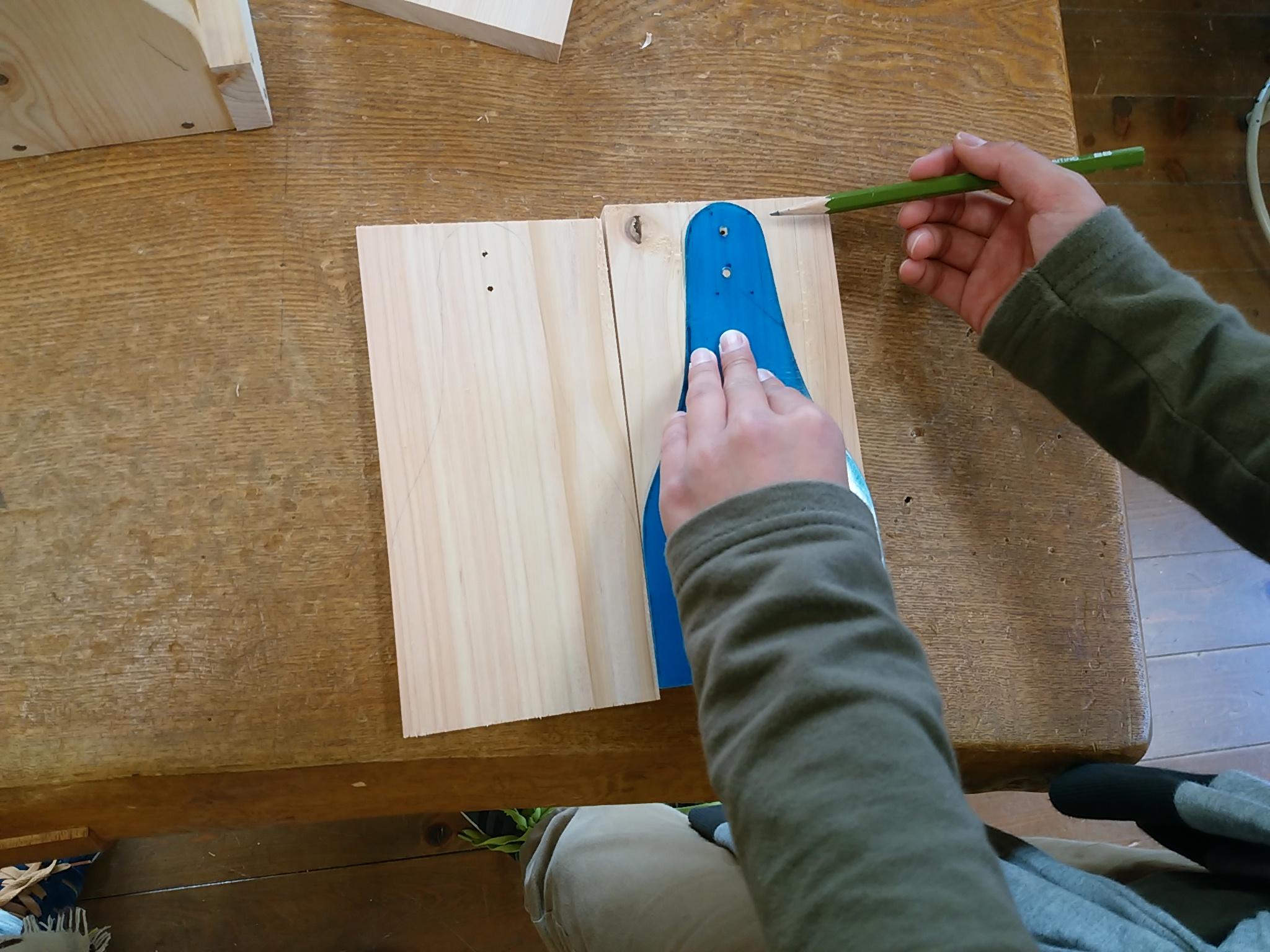 国営讃岐まんのう公園の木工教室で小物入れ作り
