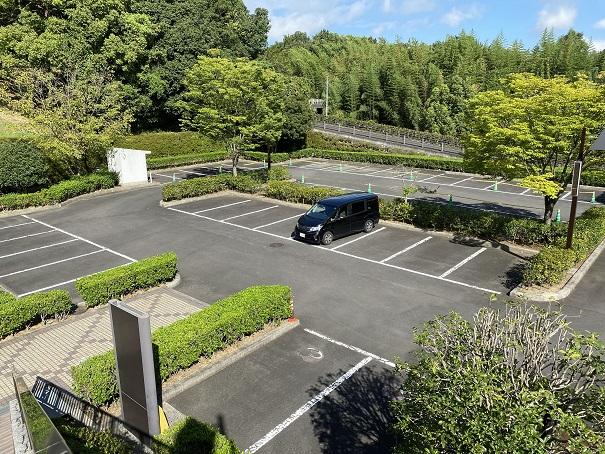 さぬき空港公園 グラススキー場 駐車場