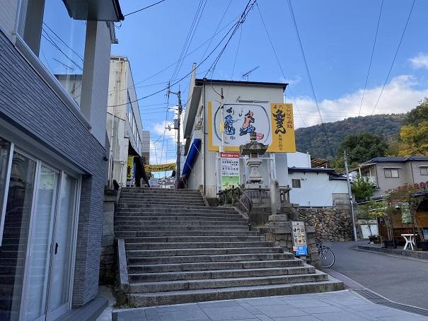 金刀比羅宮参道の階段