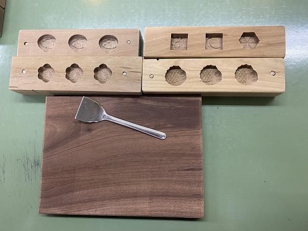 選んだ木枠