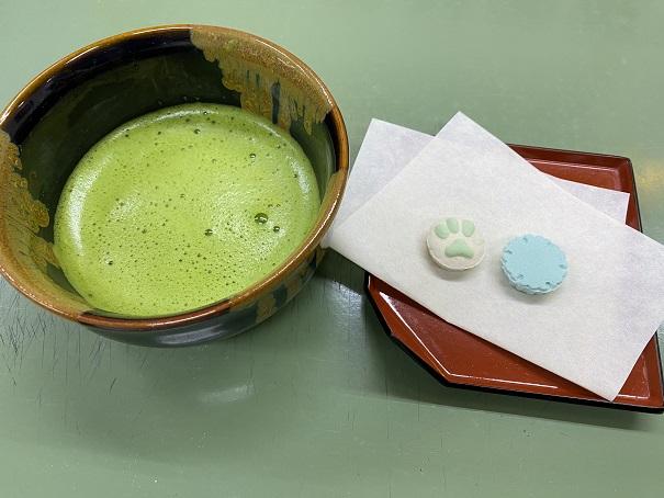 にしきや抹茶と生和三盆