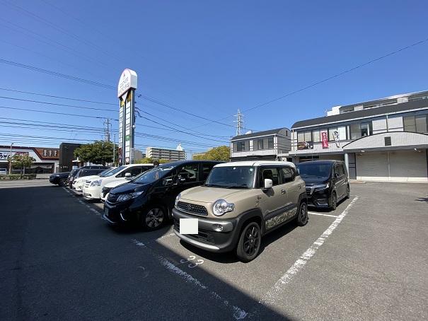 中村うどん駐車場