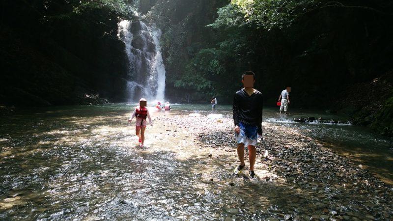 鮎返りの滝