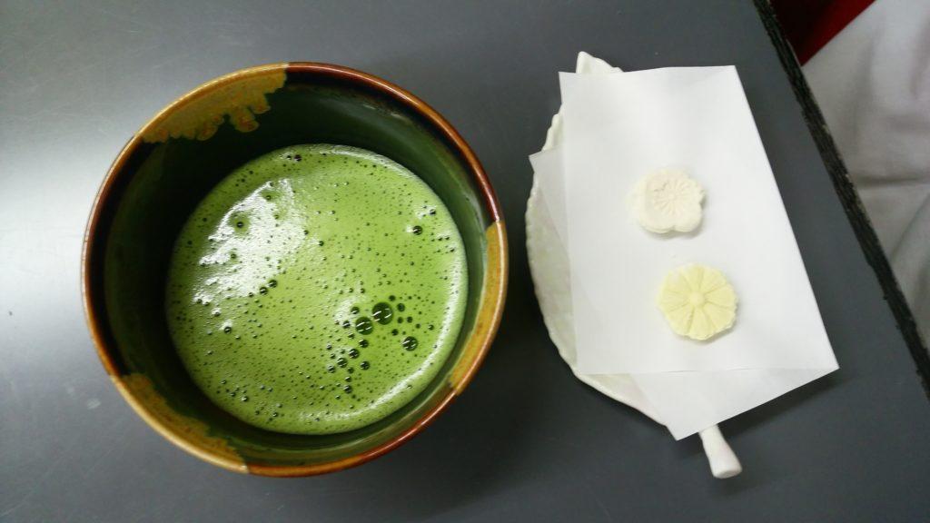 お抹茶と和三盆