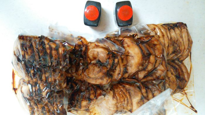 西山食肉店の焼豚