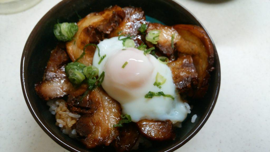 西山食肉店 焼豚丼