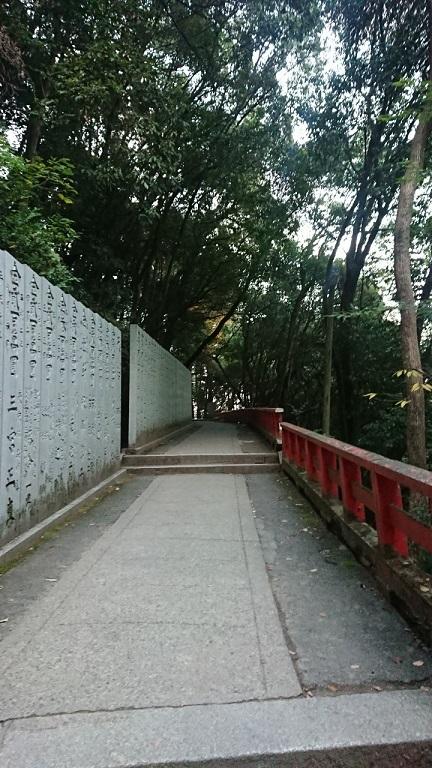 厳魂神社(奥社)への道