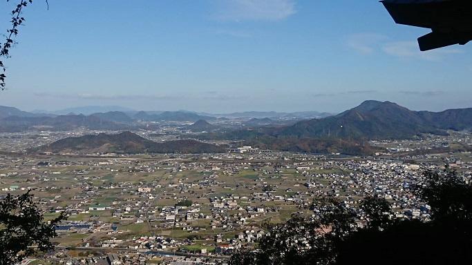 厳魂神社(奥社)からの景色