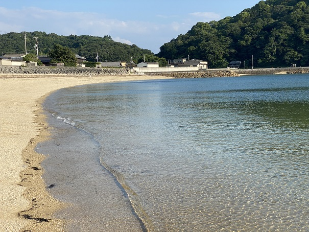 仁老浜海水浴場透明度