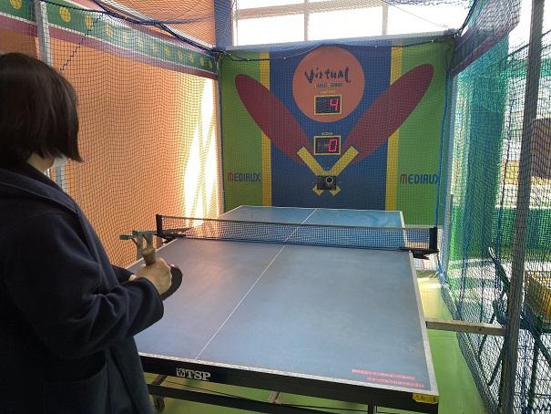 オート卓球挑戦