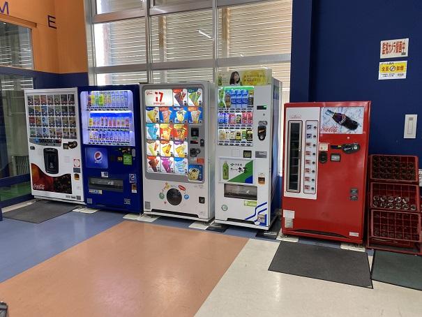 スポーツドーム宇多津自動販売機