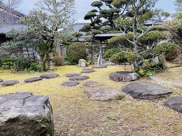 讃州井筒屋敷母屋庭