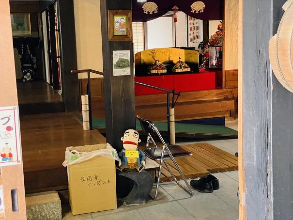 讃州井筒屋敷母屋玄関