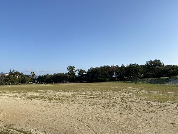 有明浜海水浴場駐車場