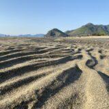 有明浜海水浴場 マテ貝の潮干狩り 琴弾公園で遊ぶ 観音寺市