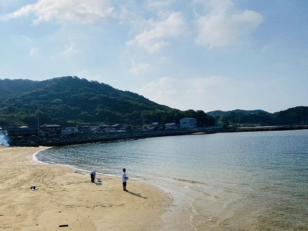 大浜北側海水浴
