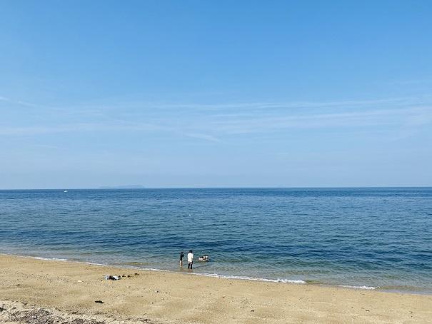大浜の風景