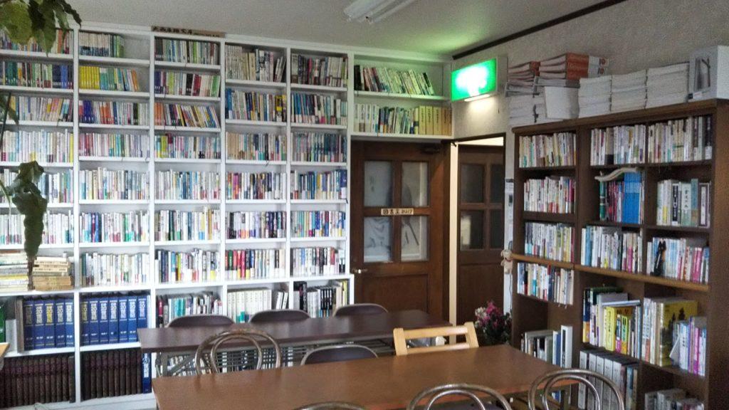 珈琲倶楽部2階図書室
