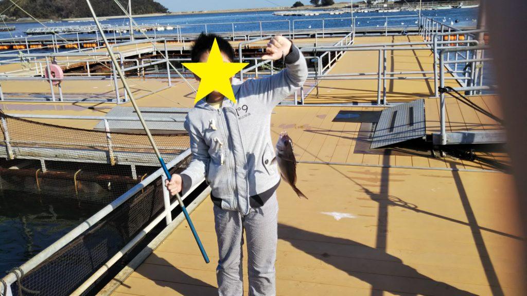 釣れた鯛1