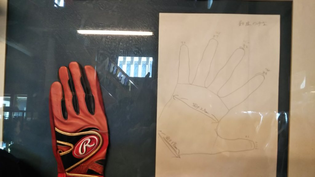新庄の手袋