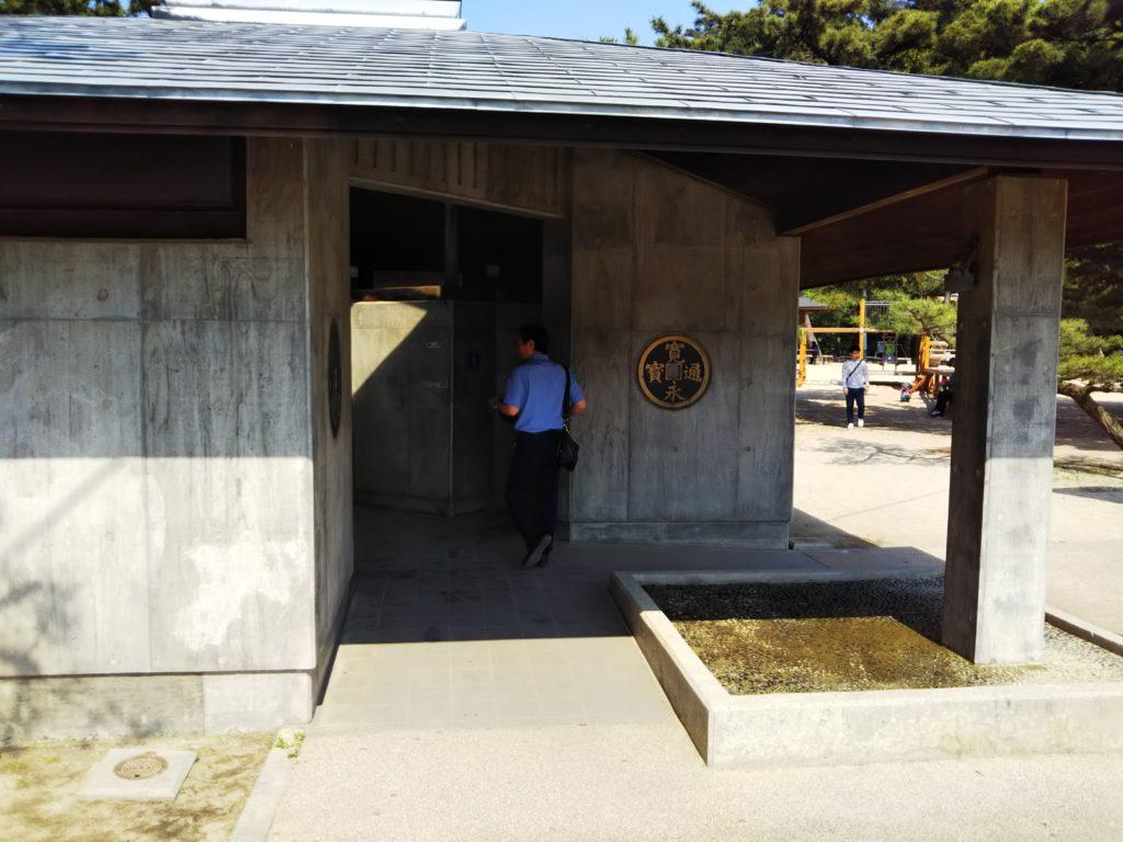 琴弾公園北側トイレ