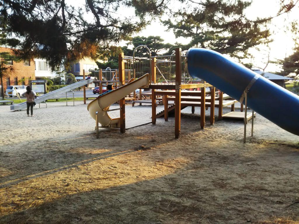 琴弾公園遊具