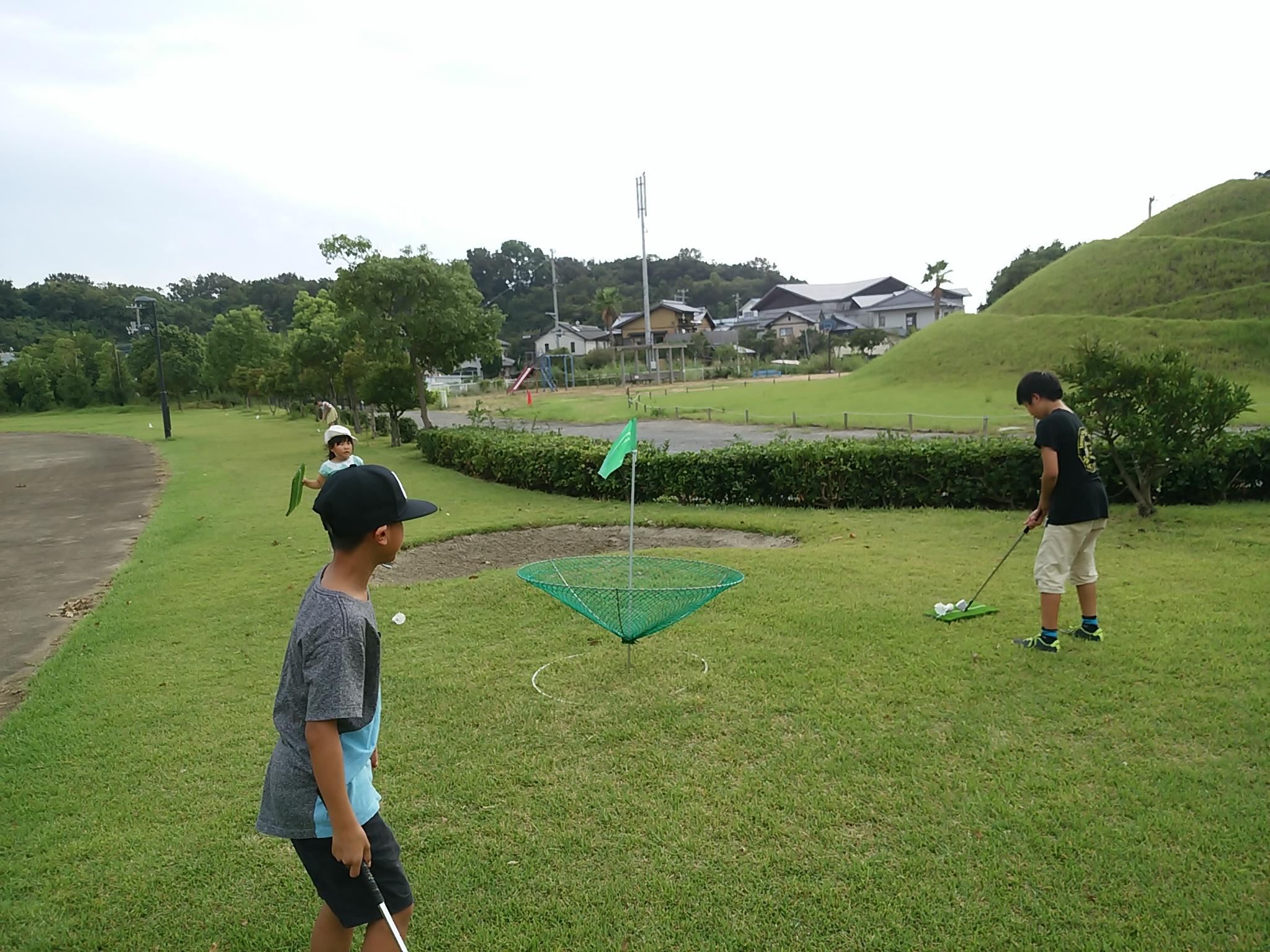 香川県の子供と遊べるパークゴルフ場やターゲット パター パットゴルフ