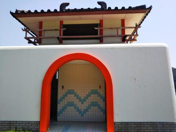 仁老浜海水浴場トイレ