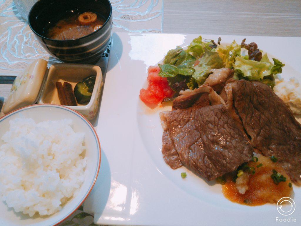 神戸牛焼きしゃぶおろしポン酢