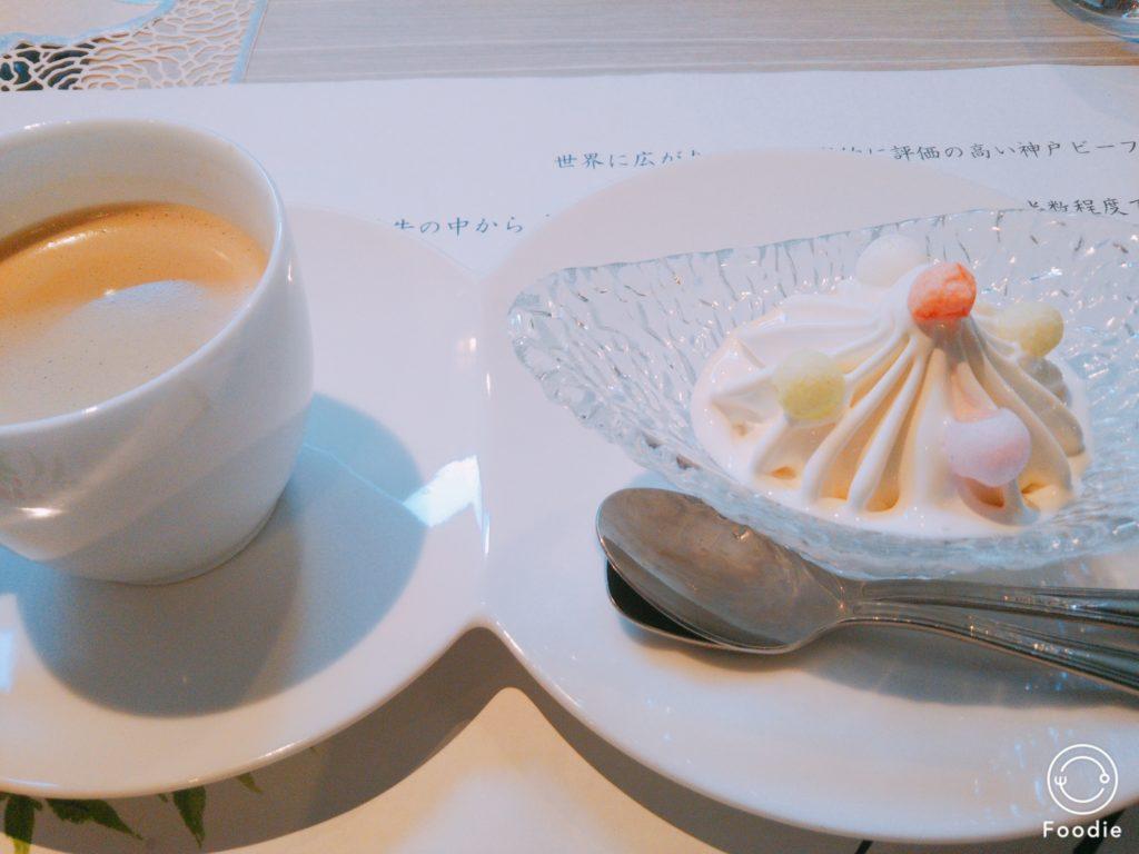 デザート コーヒー