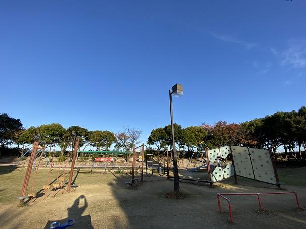 うたづ臨海公園アスレチック遊具