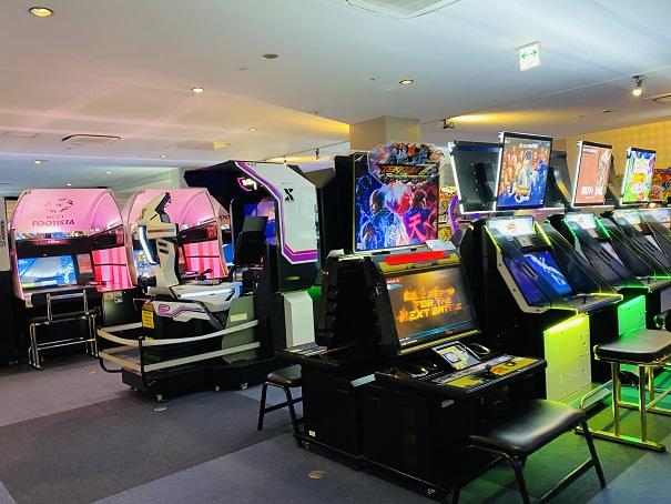 ラウンドワンスタジアム高松店 ビデオゲーム