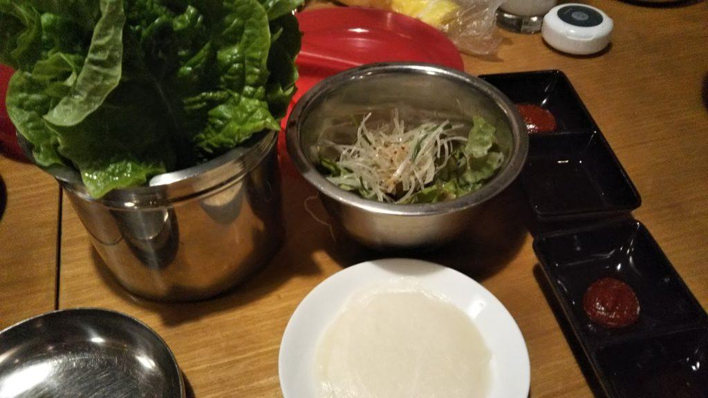 サムギョプサル包菜