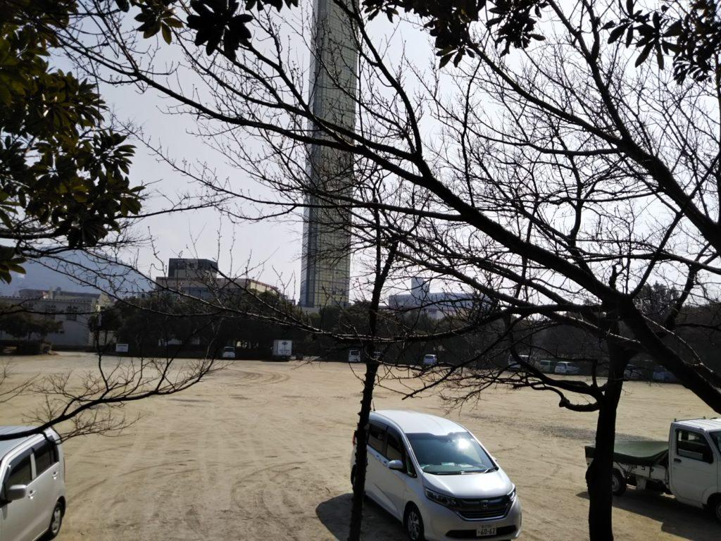 四国水族館建設予定うたづ臨海公園駐車場