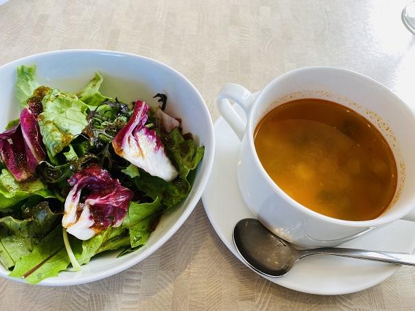 COVO スープとサラダ
