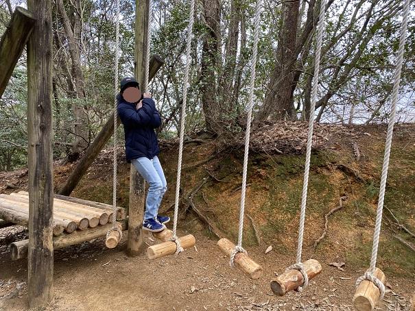木かぶ渡りアスレチック