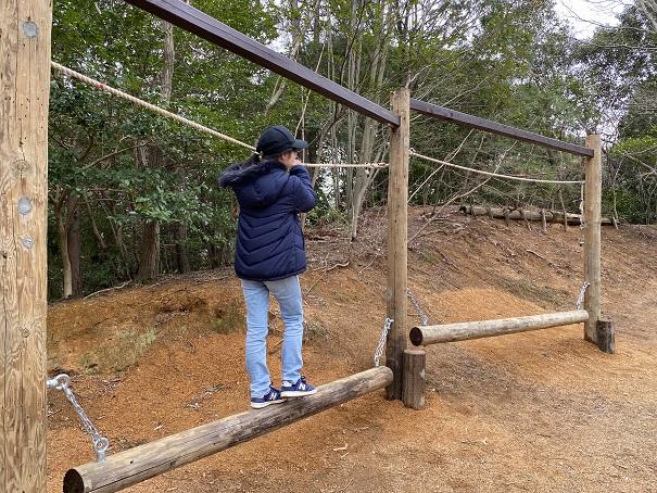 カラウス平均台みろく自然公園
