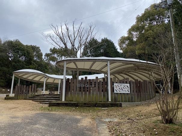 自然公園キャンプ場バーベキューサイト