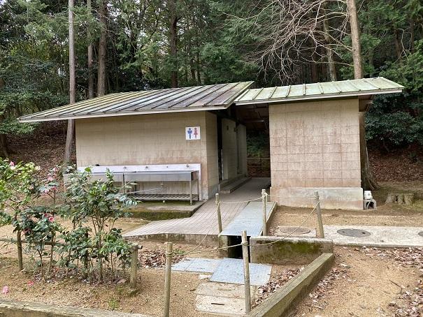 トイレみろく自然公園キャンプ場