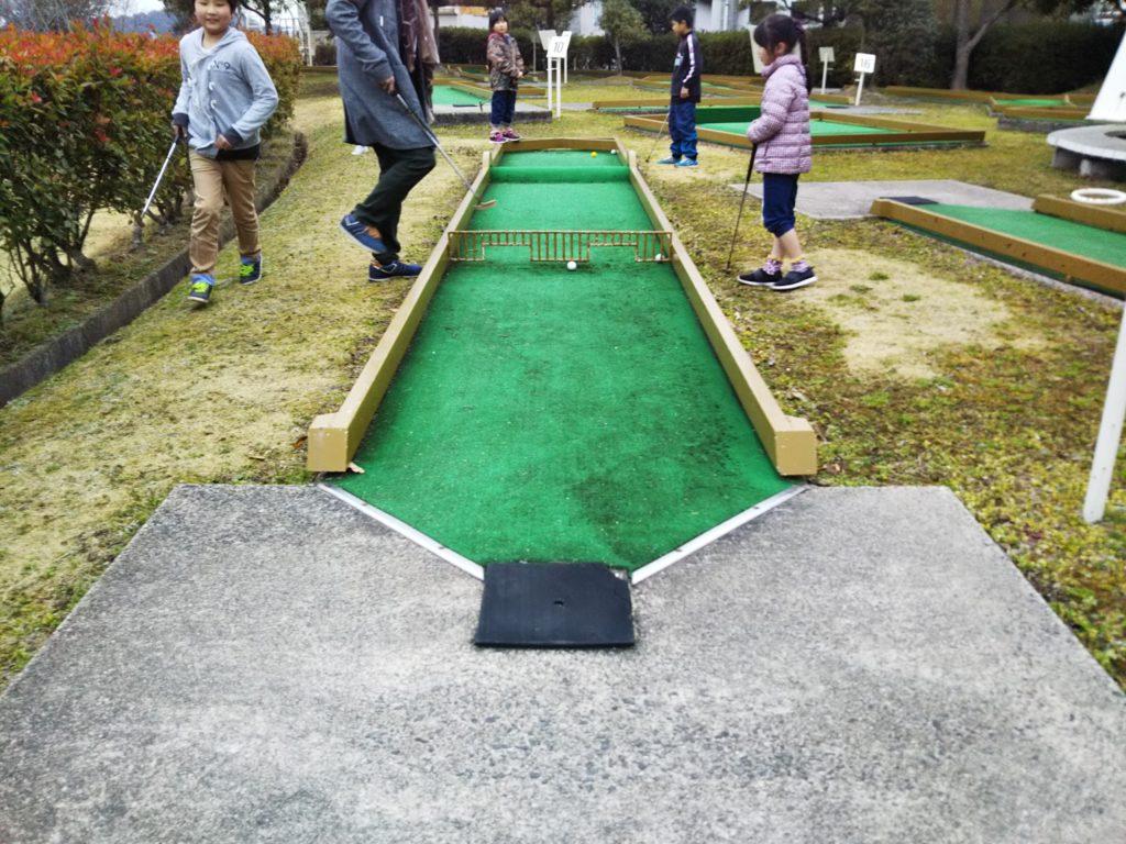パターゴルフホール1
