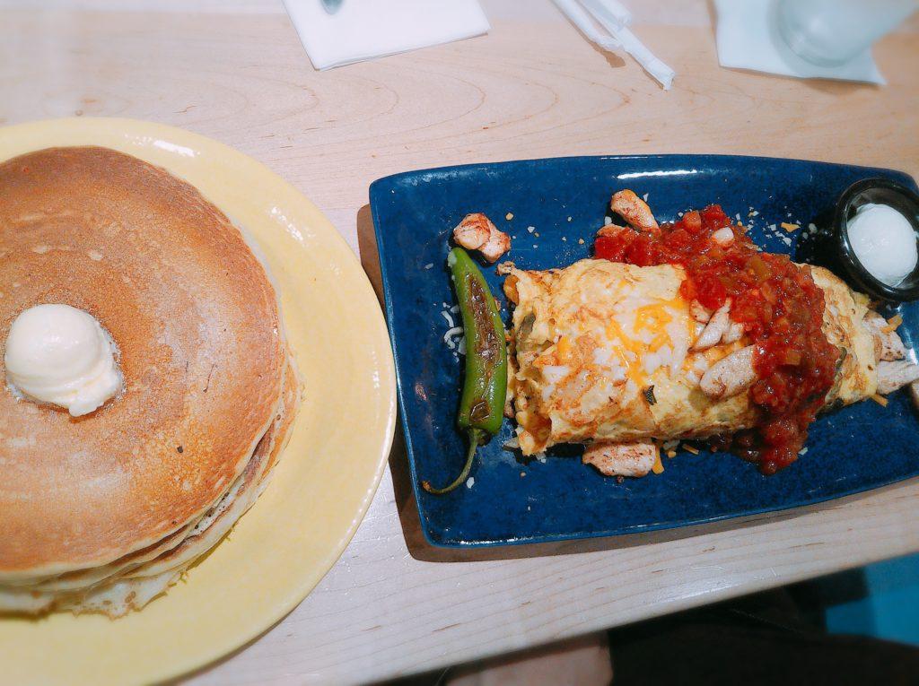 Chicken Fajita Omlet
