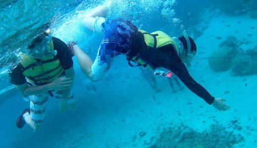 グアムココス島ボートシュノーケリングは最高の思い出に