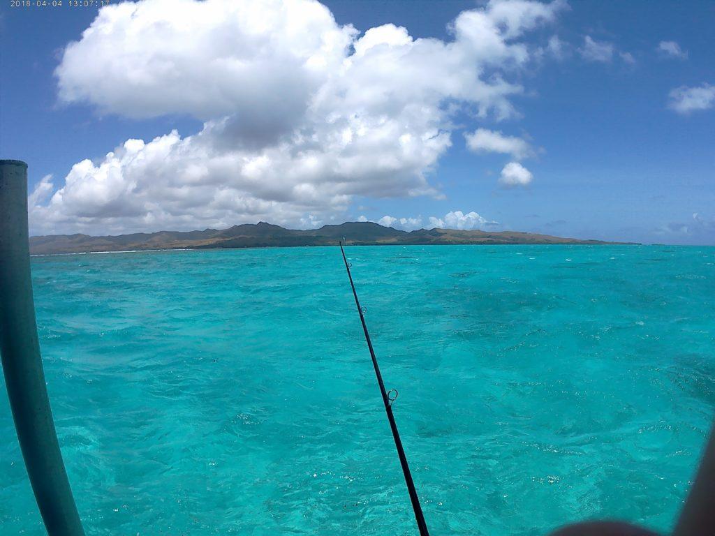 ココス島が綺麗に