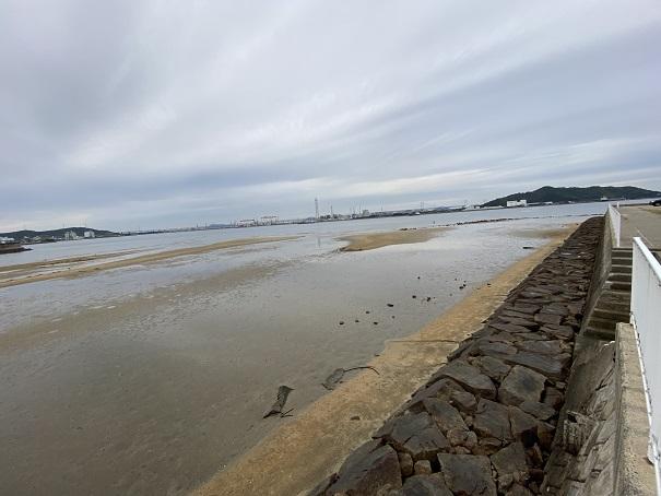 綾川の河口