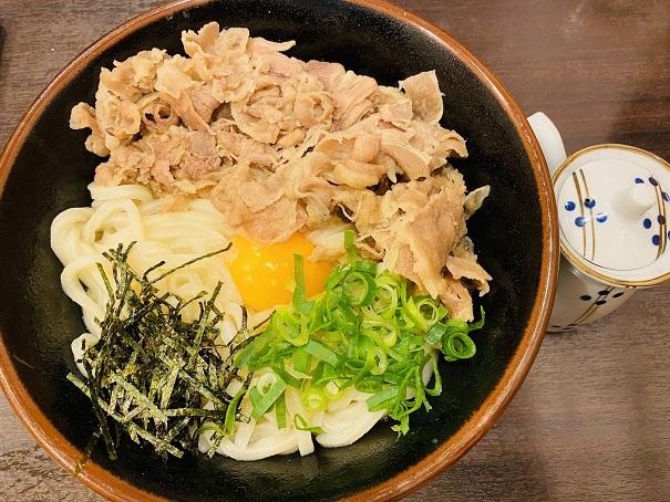 讃州製麺肉甘玉うどん大
