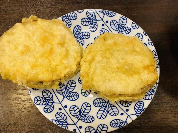 讃州製麺サツマイモの天ぷら