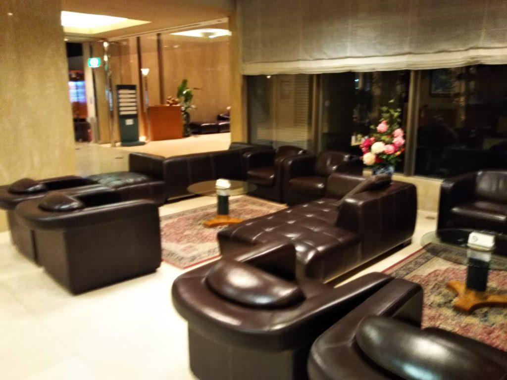 ベルビューガーデンホテル関西空港ソファー