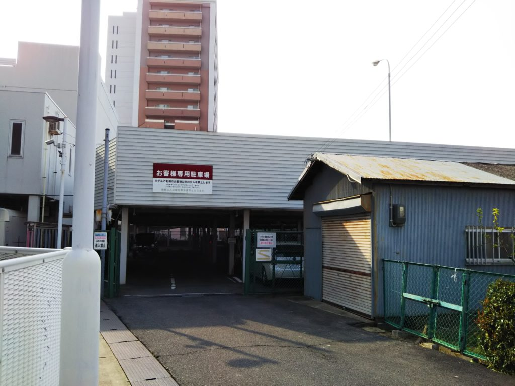 ベルビューガーデンホテル関西空港駐車場