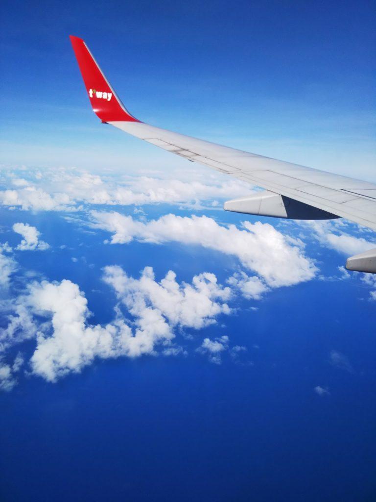 グアムまでの飛行機